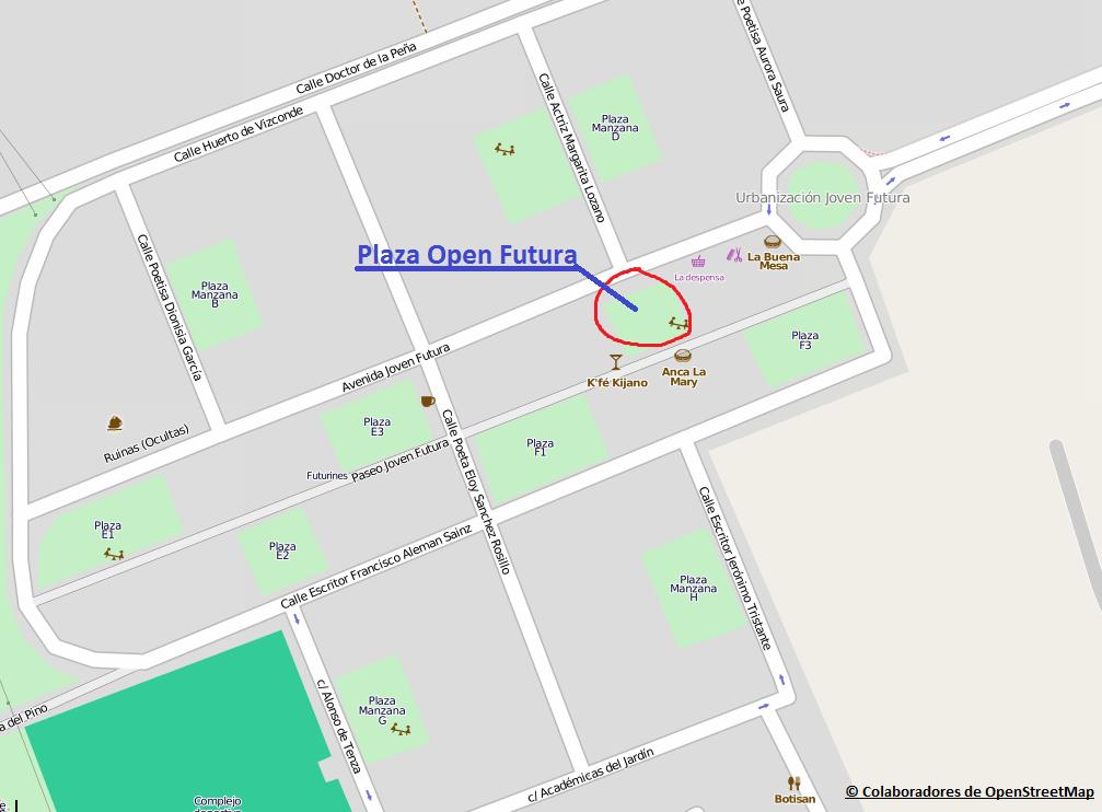 Plaza Open Futura