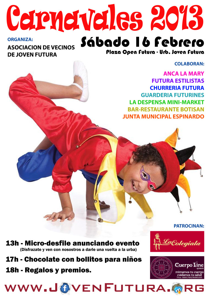 Cartel Carnaval 2013 JF