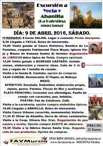 Visita Yecla-Abanilla 2016