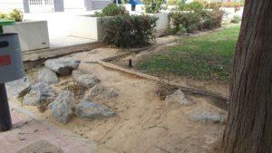 Zona jardín estropeado 3 (Plaza Open Futura)
