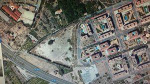 2016-10-26 Jardín metropolitano de Espinardo en Joven Futura con Google Maps