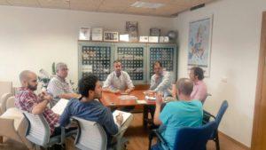 Foto 2 reunión Comisión Jardín con Participación Ciudadana