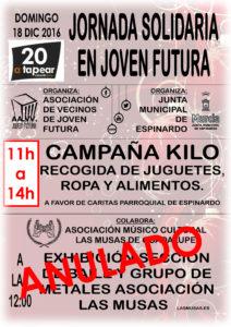 Cartel 2016 navidad - ANULADO MUSAS Y CAMBIO UBICACION