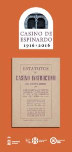 Tríptico 100 años Casino Espinardo página 1