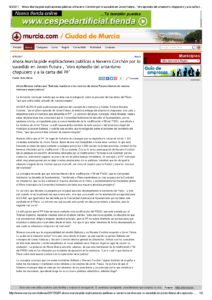 2017-02-07 Ahora Murcia pide explicaciones públicas a Navarro Corchón por lo sucedido en Joven Futura - murcia.com