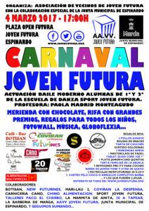 Cartel Carnaval Joven Futura 2017