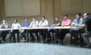 Imagen tomada en la Junta Municipal del 29-06-2016