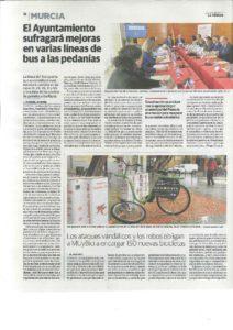 2017-03-20 Constitución Mesa del Transporte - Sillas gemelares y Rayo 14