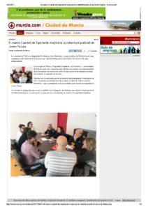 2017-04-21 El nuevo Cuartel de Espinardo mejorará la cobertura policial de Joven Futura - murcia.com
