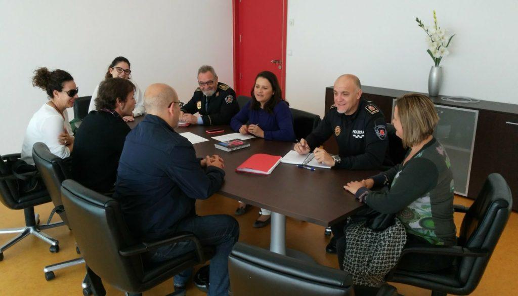 2017-04-21 Reunión Concejal Seguridad Ayto Murcia