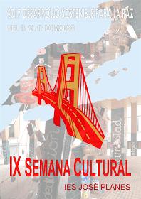 2017-05-10 IX Semana cultural del IES José Planes - Cartel