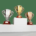 Copas podium