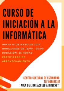 2017-05-10 Curso iniciación a la informática del Centro Cultural de Espinardo