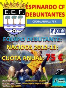 2017-05-29 Cartel Espinardo C.F. Debutantes 2017