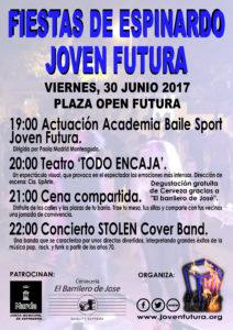 Cartel 2017 fiestas Joven Futura