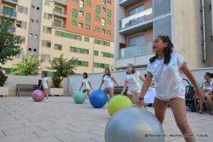 Academia Baile Paola Madrid Monteagudo Fiestas de Joven Futura 2017