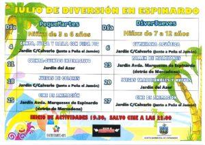 2017-06-28 Cartel Julio de Diversión en Espinardo 2017