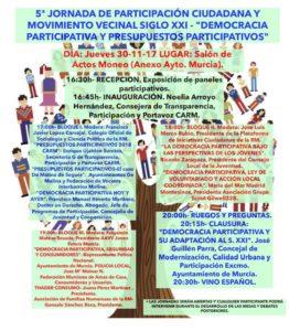 2017-11-30 5ª Jornada Participación Ciudadana