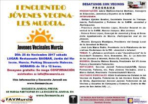 I Encuentro de Jóvenes Vecinales de Murcia