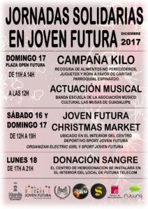 2017-12-01 Cartel 2017 Jornadas Solidarias Joven Futura
