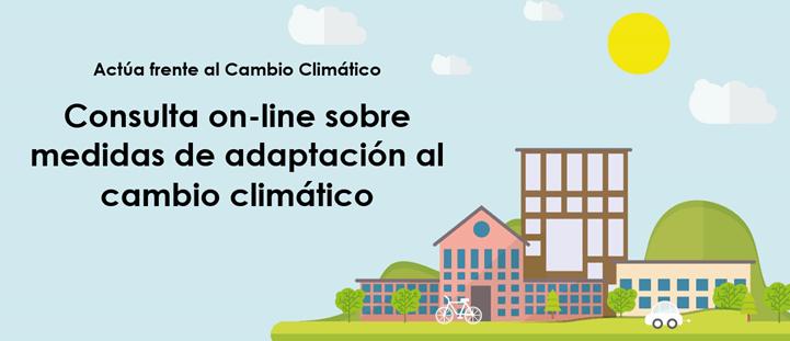 Encuesta de participación ciudadana Medidas adaptación cambio climático