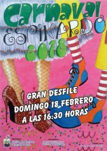 Cartel Carnaval 2018 Espinardo
