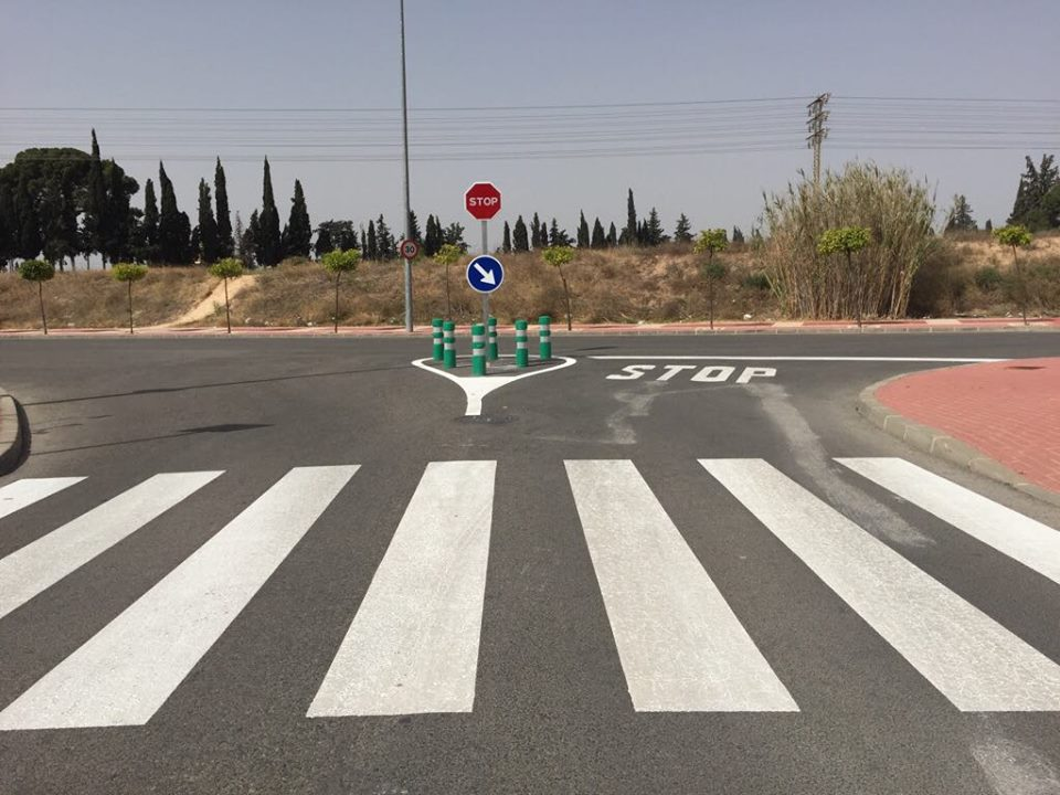 Señalización Cruce Avenida Joven Futura con calle Huerto del Vizconde - Foto 1