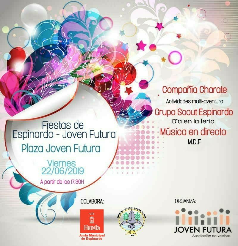 Cartel Fiestas Junio 2018 - Previa