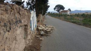 2017 Estado ruinoso del muro