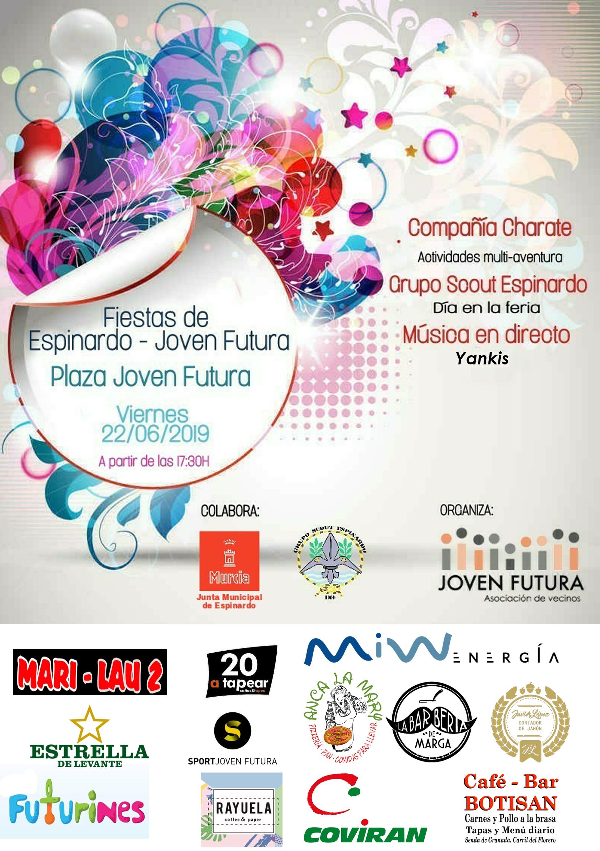2018-06-12 Cartel Fiestas de Joven Futura 2018