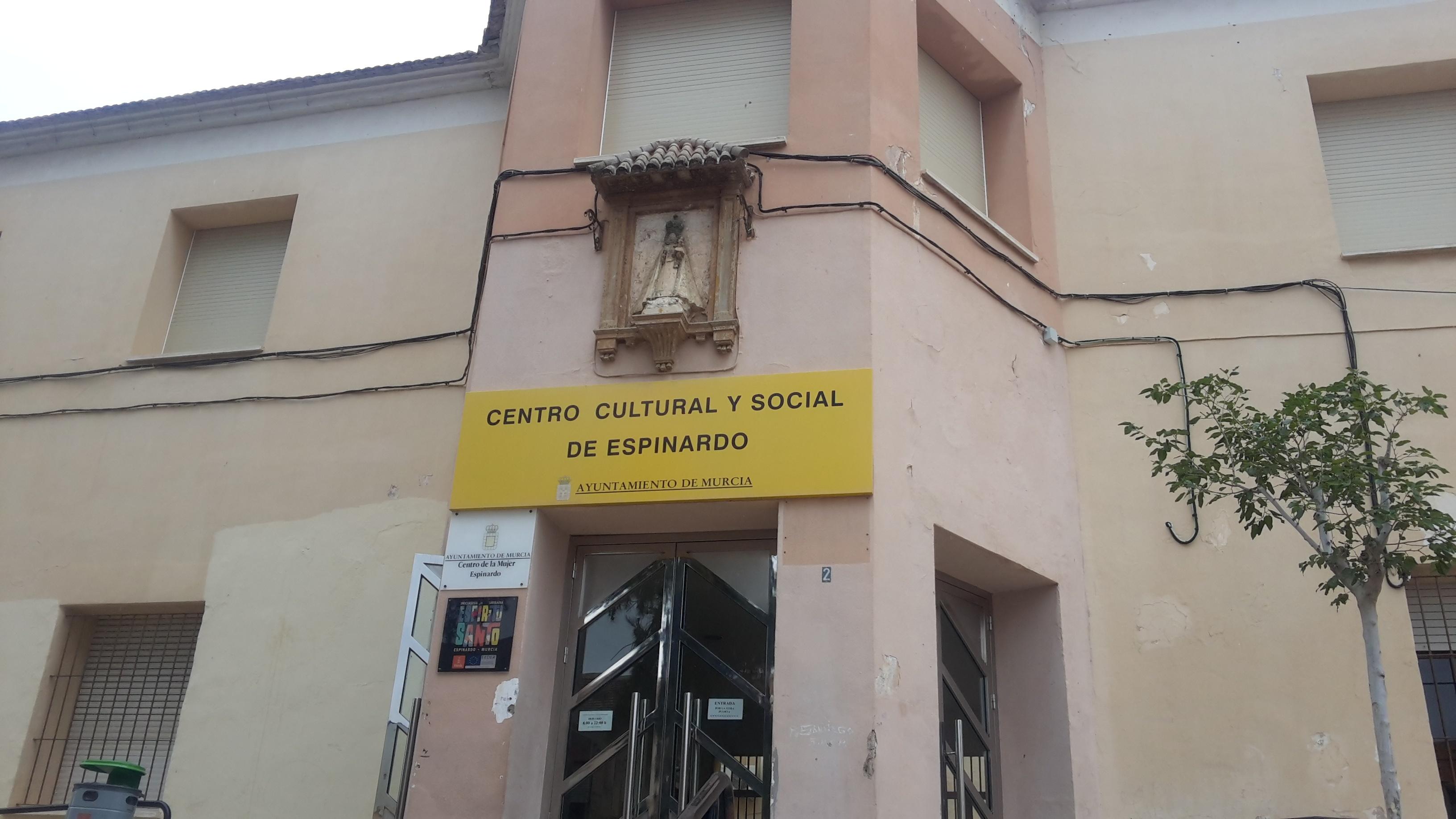 Fachada Centro Cultural y Social de Espinardo