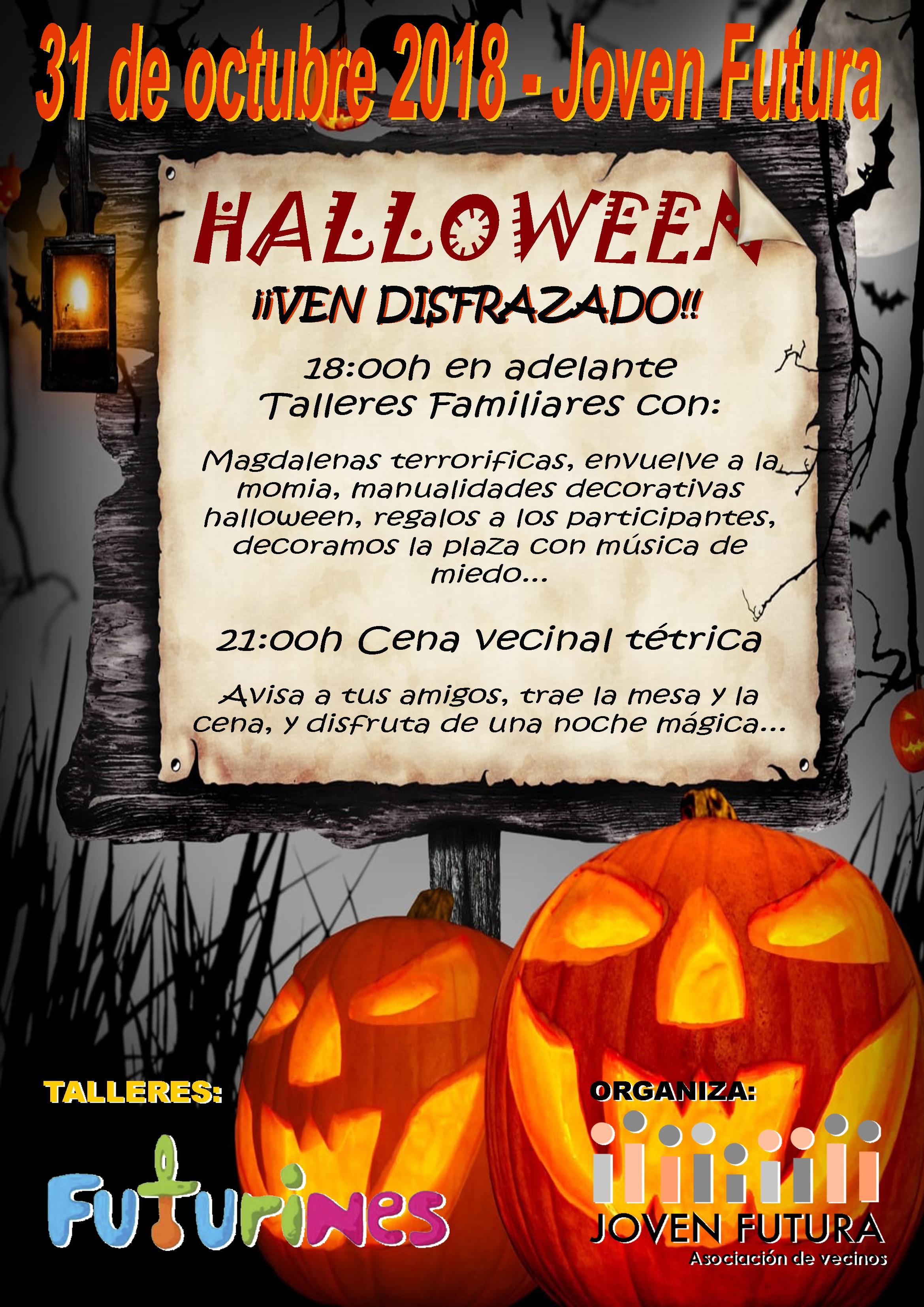 2018-10-31 Cartel Halloween 2018 Joven Futura