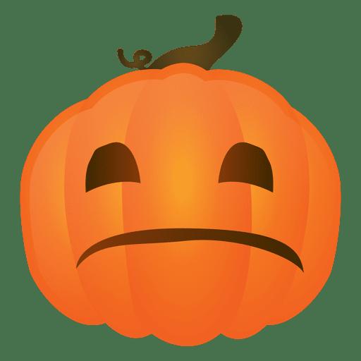 Calabaza triste