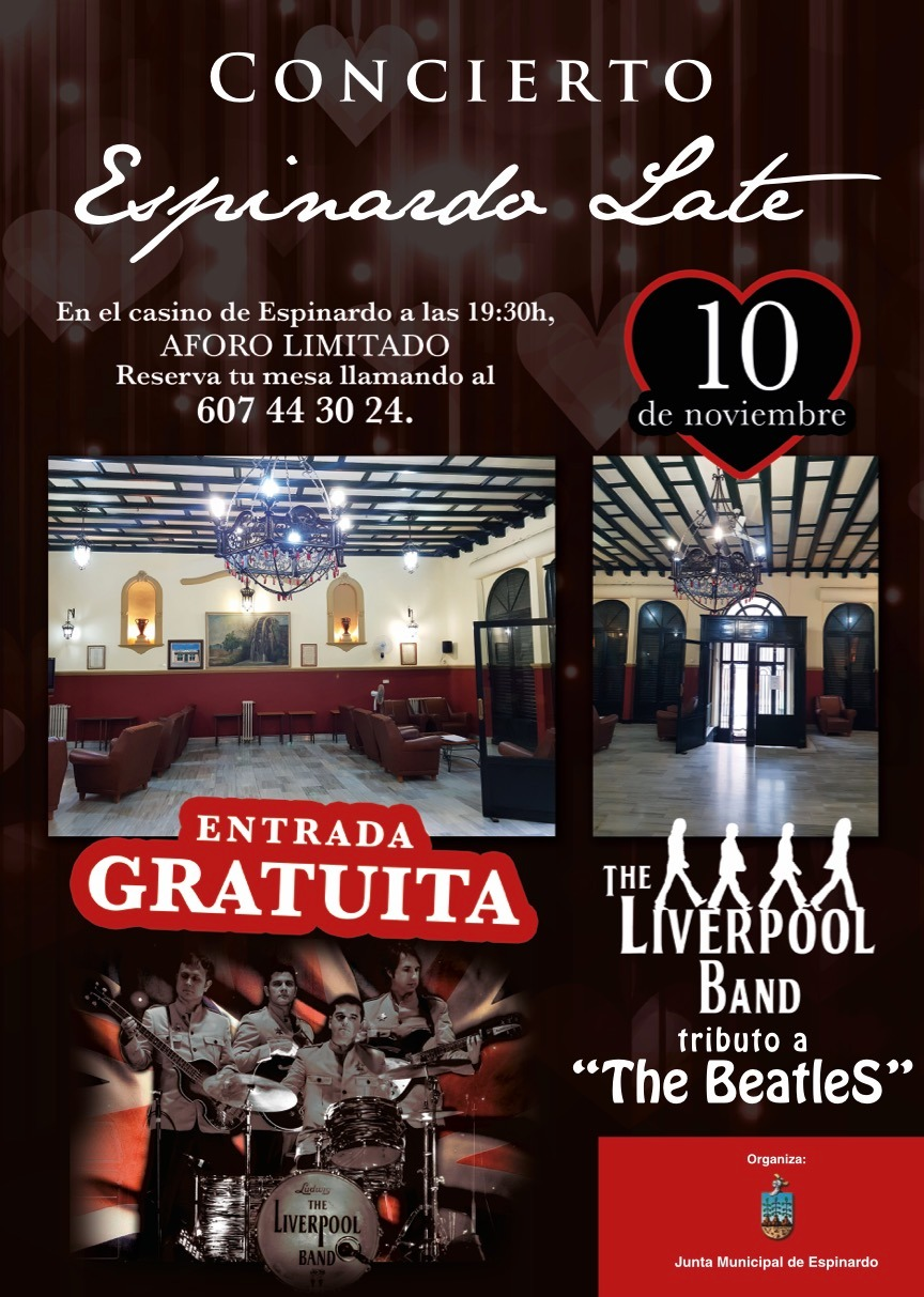 2018-11-10 Espinardo Late - Concierto the Liverpool Band