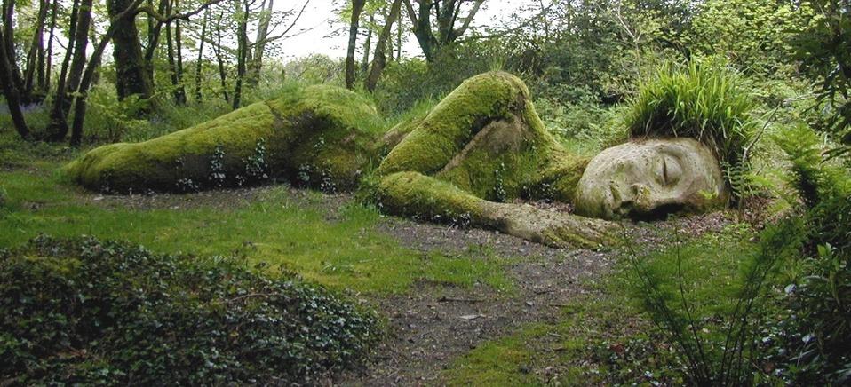 Jardines perdidos de Heligan