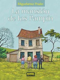 Portada - La Mansión de los Pampín - Miguelanxo Prado - Club de Lectura Joven Futura