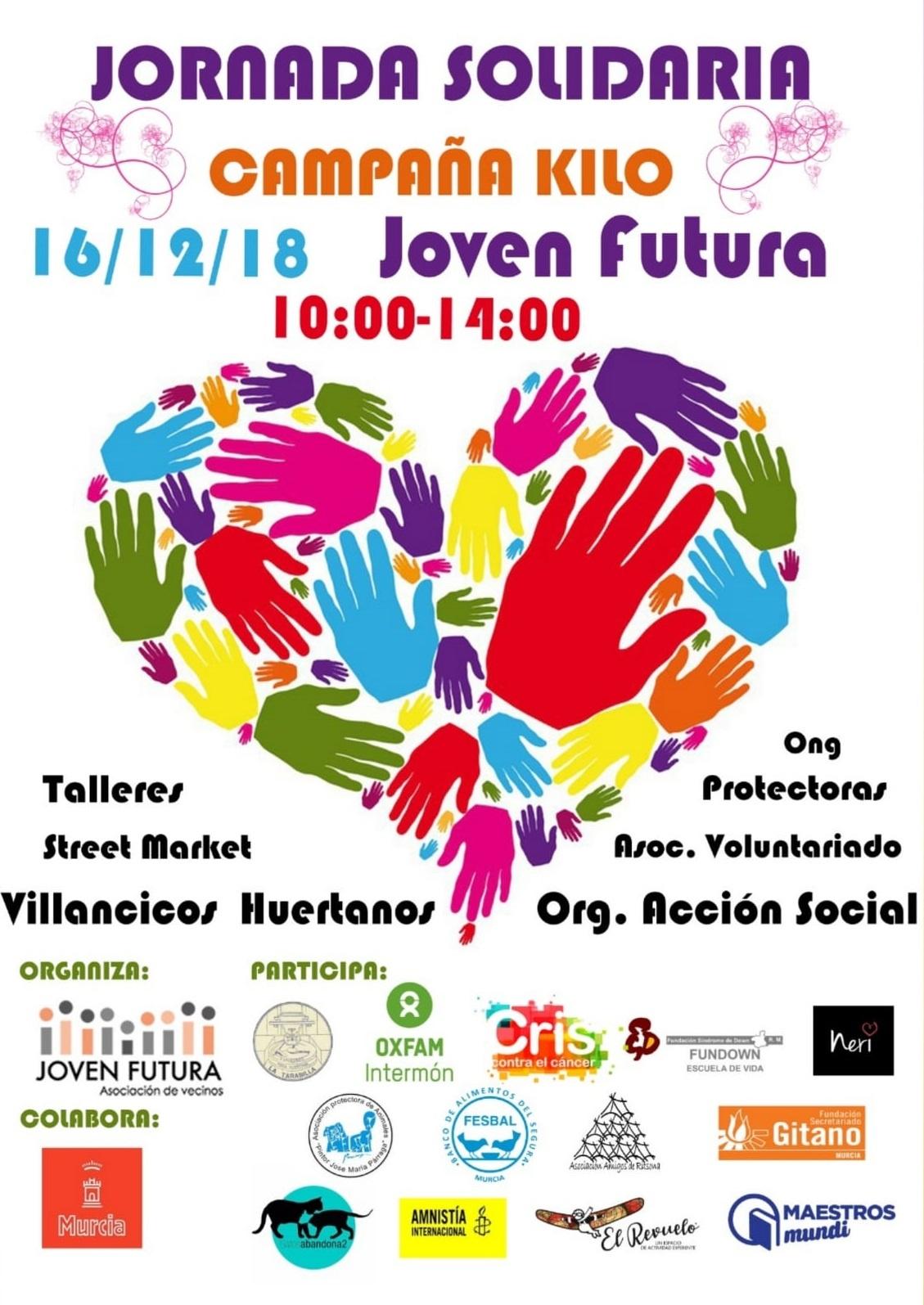 2018-12-16 Cartel Jornada Solidaria en Joven Futura