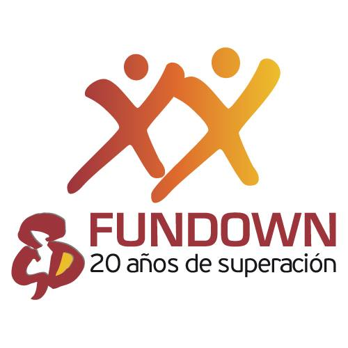 Logo - Fundown 20 años de superación