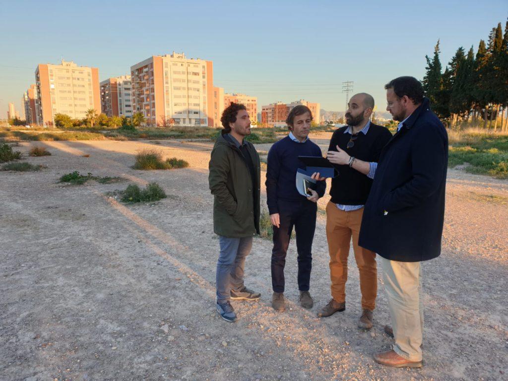 Visita concejal José Guillén a #ElMetropolitano