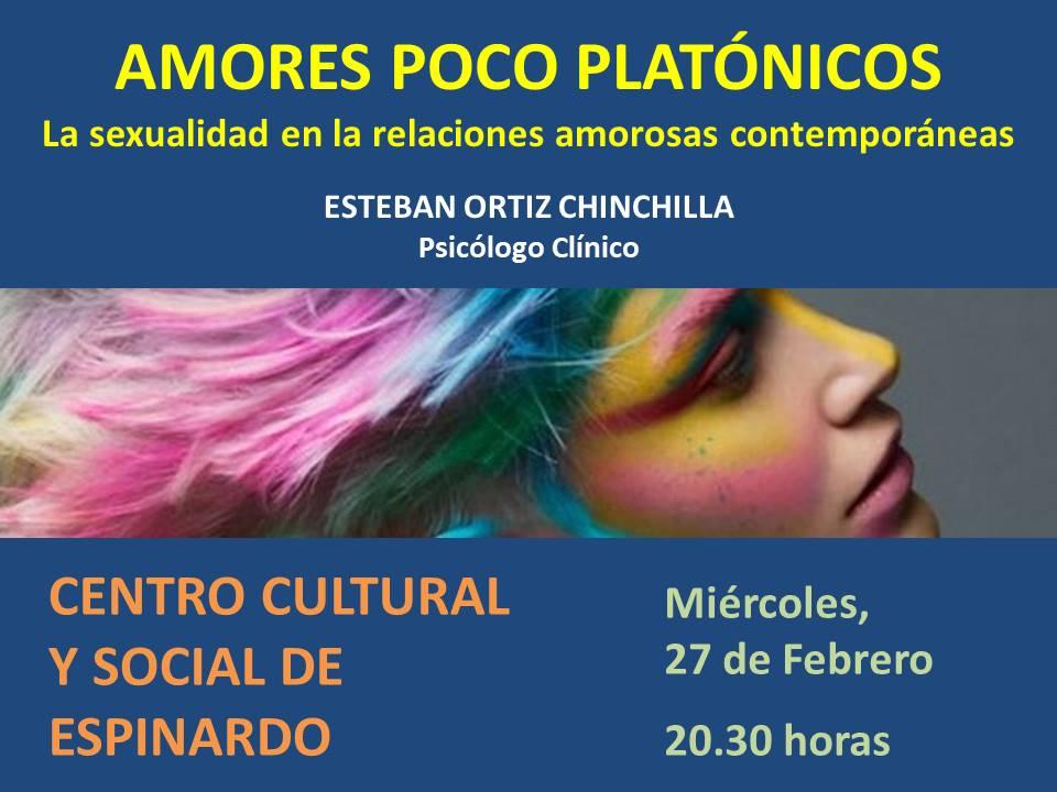 Cartel Amores Poco Platónicos
