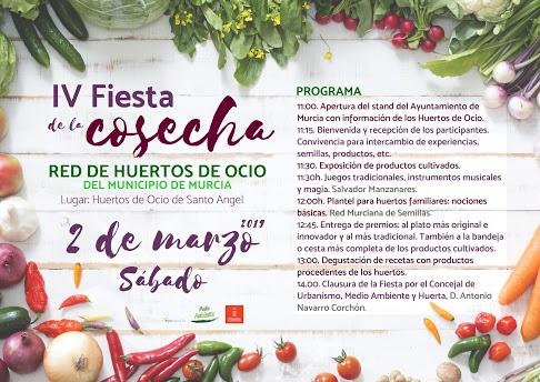 Cartel fiesta cosecha 2019