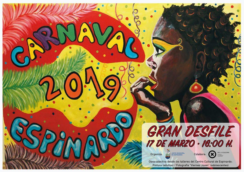 2019-03-06 Cartel Desfile Carnaval 2019 Espinardo
