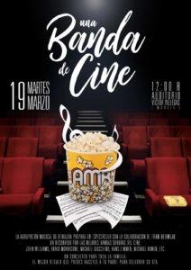 Cartel Una banda de cine 19-03-2019