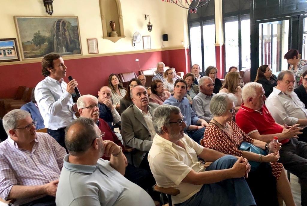 2019-05-07 Encuentro con PP - Casino de Espinardo - Joven Futura.
