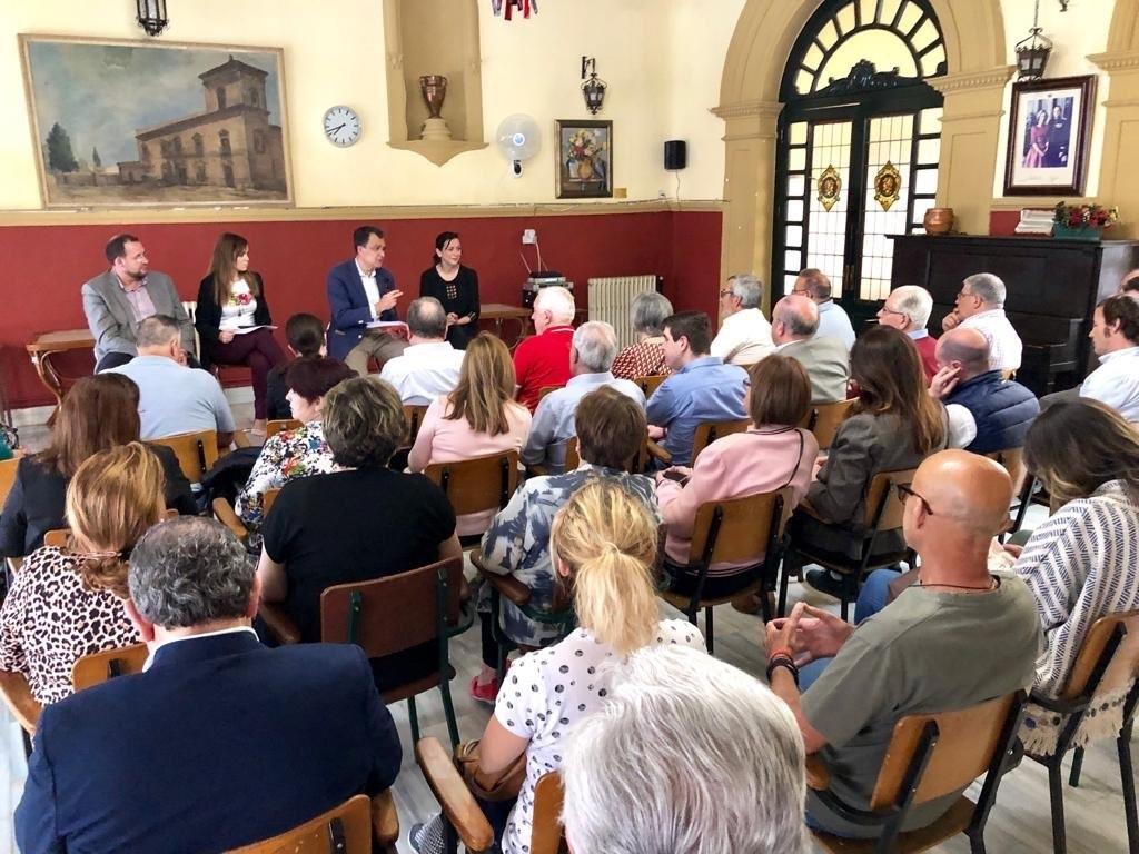 2019-05-07 Encuentro con PP - Casino de Espinardo