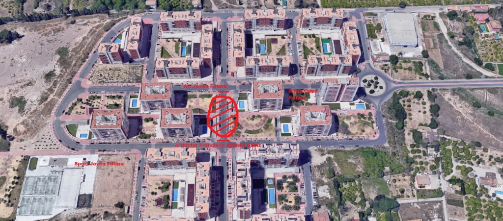Joven Futura corte calles Fiestas 2019