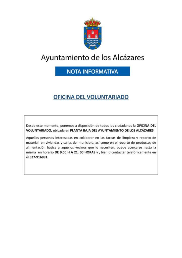#DANARMurcia oficina del voluntariado de Los Alcázares