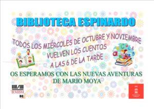 RMBM ESPINARDO - Cuentacuentos miercoles octubre y noviembre 2019 a las 18h