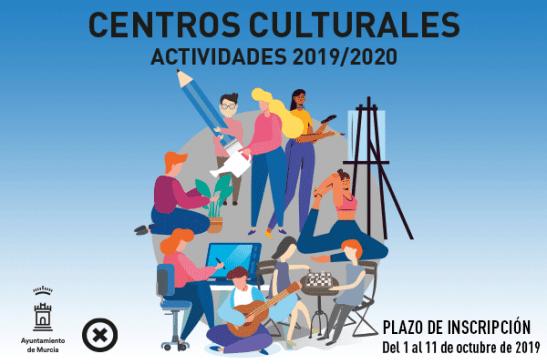 Actividades Centros Culturales 2019-2020