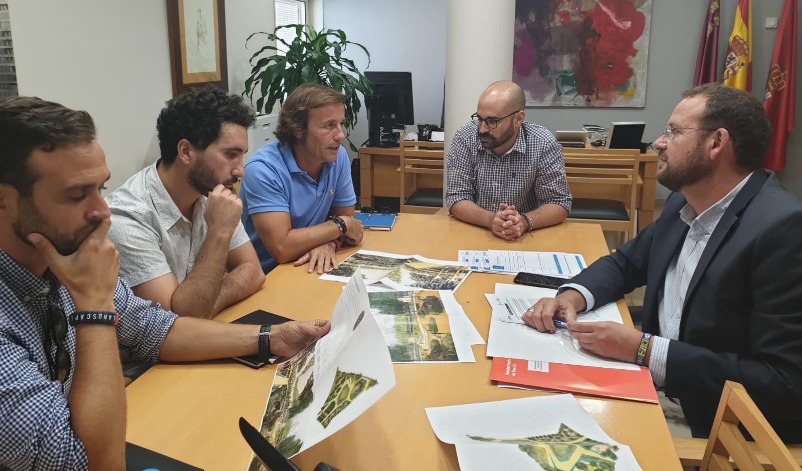 2019-10-01 Reunión seguimiento Parque Metropolitano